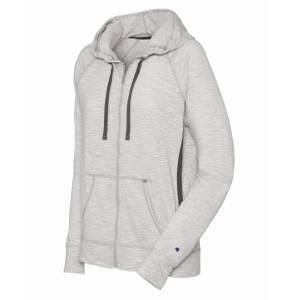 88858d90b14 Champion Women  39 s Heathered Jersey Full Zip Jacket