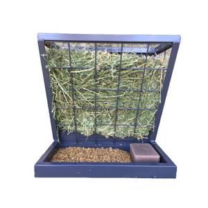 Rugged Ranch Galvanized Hay Feeder