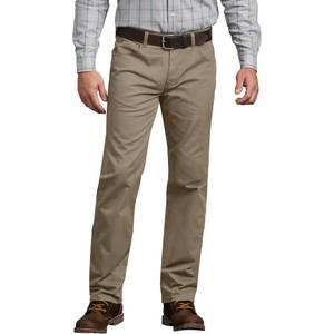 9702b650 Dickies Men's Rinsed Desert Sand Flex 5-Pocket Pants