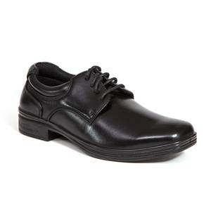 406966e87500 Deer Stags Boys  39  Black Lace Up Dress Shoes