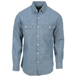 af6da11760 Work n  39  Sport Men  39 s Long Sleeve Chambray Shirt