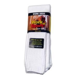 Work n' Sport Men's Over the Calf Tube Socks