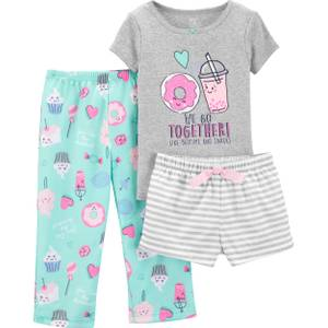 ecf8eec0be74 Carter  39 s 3-Piece Boys Donut PJs