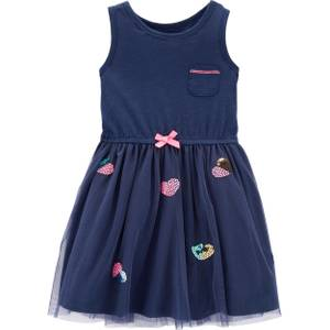 7617af744 Carter's Toddler Girl's Heart Tulle Dress