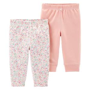 Carters Baby Girls Elastic Ruffle Pant 2 Pack