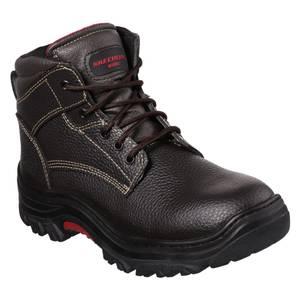 Skechers Men S Burgin Tarlac Steel Toe Boots 77143 Brn 7 Blain S Farm Fleet