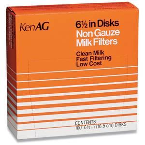 "Ken Ag 6-1/2"" Milk Filters"