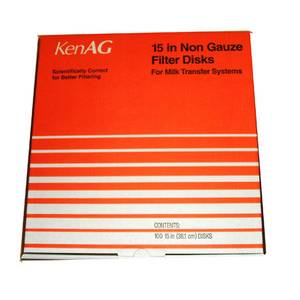 "Ken Ag 15"" Transfer System Milk Filters"