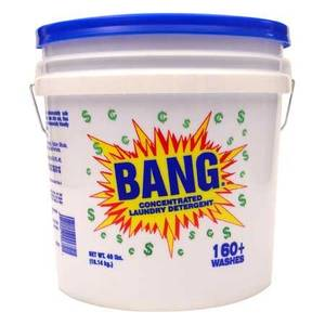 Bang Powdered Concentrated Laundry Detergent