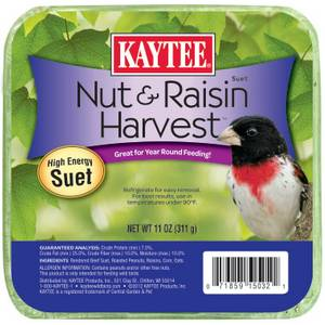 Kaytee Nut & Raisin Harvest High Energy Suet