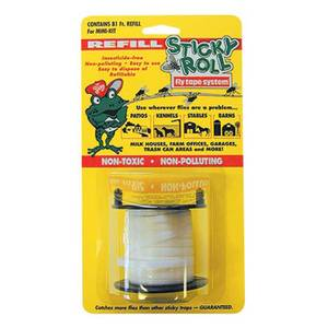 Mr. Sticky Sticky Roll Fly Trap System Mini Kit Tape Refill