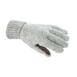 Swany Women's Oatmeal Ragg Wool Winter Gloves