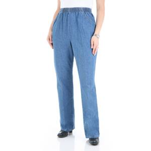 Chic Misses Destruction Blue Pull-On Scooter Pants