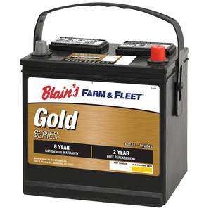 Blain's Farm & Fleet 6-Year Gold Automotive Battery