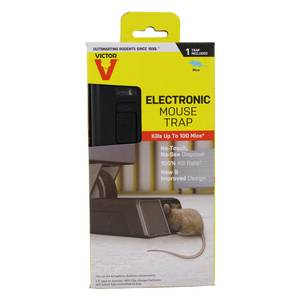 victor electronic rat trap instructions