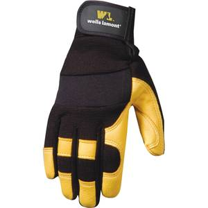 Wells Lamont Ladies Ultra Comfort Deerskin Gloves