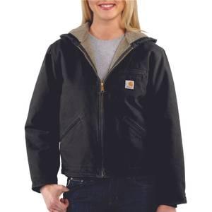 Carhartt Misses Black Sandstone Sierra Jacket
