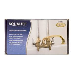Aqualife Two Handle Dairy House Faucet