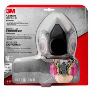 3m household cleanser odor respirator mask 2-pack