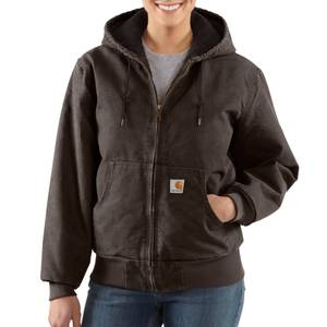 Carhartt Misses Dark Brown Sandstone Active Jacket