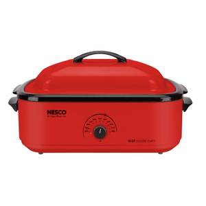 Nesco American Harvest Red 18 Quart Roaster Oven