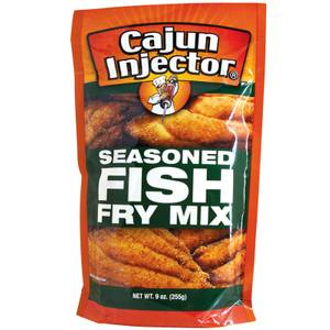 Cajun injector seasoned fish fry mix at blain 39 s farm fleet for How to season fish for frying