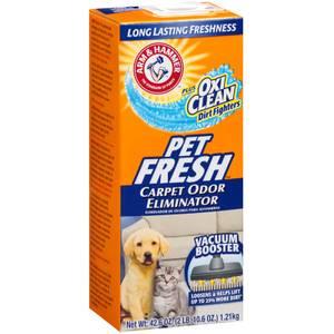 Arm Hammer Pet Fresh Carpet Room Odor Eliminator With