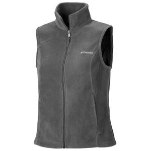 Columbia Sportswear Company Women's Charcoal Benton Springs Fleece Vest