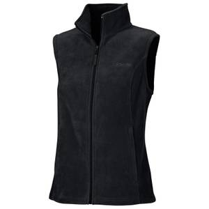 Columbia Sportswear Company Women's Black Benton Springs Fleece Vest