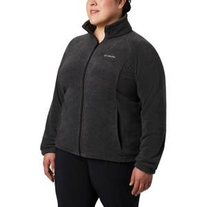 Columbia Sportswear Company Women's Charcoal Benton Springs Fleece Jacket