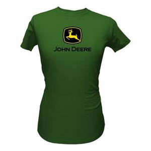 John Deere Junior's Green Short Sleeve Logo T-Shirt