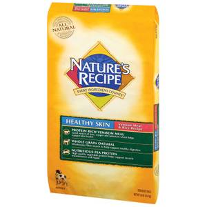 Natures Recipe Venison Healthy Skin Adult Dog Food