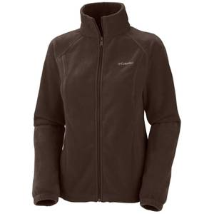 Columbia Sportswear Company Women's Bark Benton Springs Full-Zip Fleece Jacket