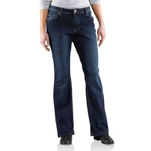 Carhartt Misses True Blue Jasper Relaxed Fit Jeans