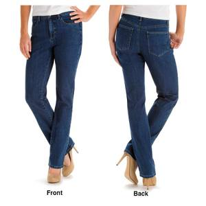 Lee Misses Seattle Classic Fit Monroe Straight Leg Jeans
