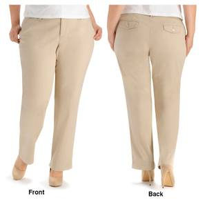 Lee Women's Sahara Comfort Waist Carden Straight Leg Pants