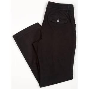 Lee Misses Black Comfort Fit Carden Straight Leg Pants