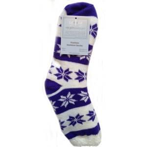 CG | CG Women's Snowflake Double Layer Fashion Outdoor Sock Assortment