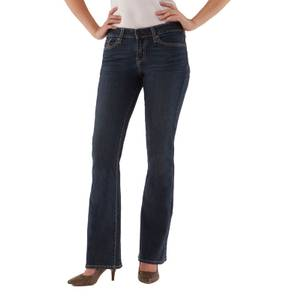 Signature by Levi Strauss & Co. Misses Greystone Simply Stretch Modern Boot Cut Jeans