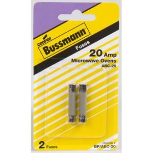 Bussmann Fast Acting Ceramic Tube Fuse Amperage 20 Amp