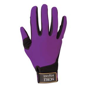 Noble Equine Women's Blackberry Perfect Fit Gloves