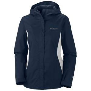Columbia Sportswear Company Misses Navy & White Arcadia II Omni Tech Jacket