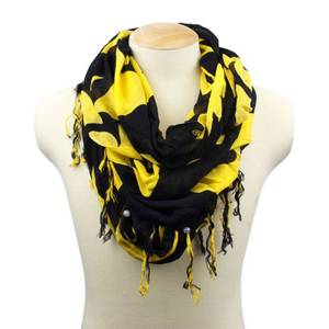 Collegiate University of Iowa Infinity Scarf