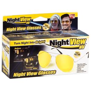 As Seen On TV Night View Driving Glasses