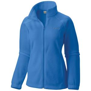 Columbia Sportswear Company Women's Harbor Blue Benton Springs Fleece Jacket