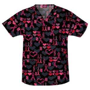 Dickies Women's Cure For The Cause V-Neck Scrub Top