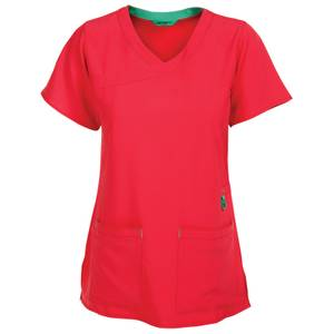 Carhartt Misses Azalea CrossFlex Y Fashion Scrubs Top