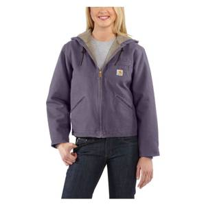 Carhartt Misses Purple Sandstone Sierra Jacket