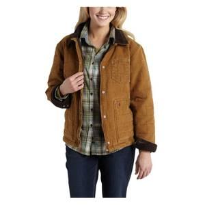 Carhartt Misses Brown Sandstone Newhope Jacket