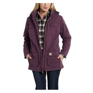 Carhartt Misses Plum Gallatin Coat